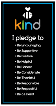 The Be Kind Pledge